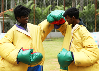 Sumo Fight at Celebrity Resorts in Chennai